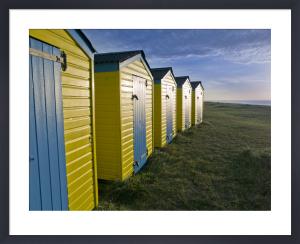 Beach Huts at Littlehampton by Assaf Frank