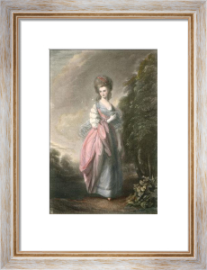 Mrs Beaufoy (Restrike Etching) by Thomas Gainsborough