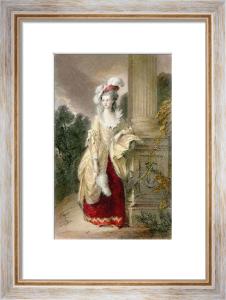 Hon Mrs Graham (Restrike Etching) by Thomas Gainsborough