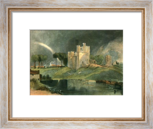 Brougham Castle (Restrike Etching) by Joseph Mallord William Turner