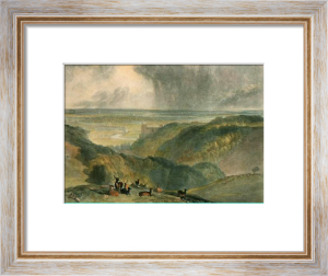 Arundel Castle (Restrike Etching) by Joseph Mallord William Turner