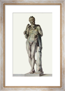 Statue - Pl. XXVII (Restrike Etching) by Henry Howard