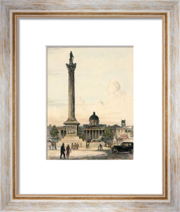 Nelsons Column (Restrike Etching) by Anonymous