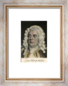Handel (Restrike Etching) by Franz Kollwitz