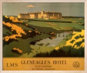 Gleneagles Hotel by British Rail