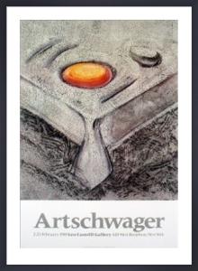 At Castelli's, 1985 by Richard Artschwager