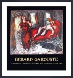 Scenes of a room by Gerard Garouste