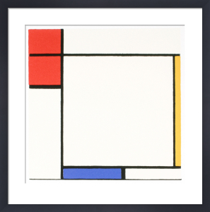 Composition with Red, Yellow, and Blue by Piet Mondrian