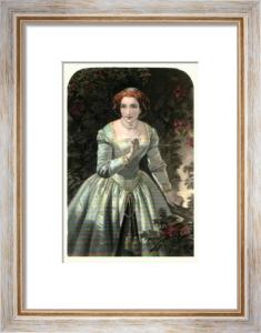 Beatrice (Restrike Etching) by W.S. Herrick