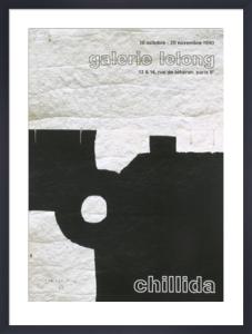Galerie Lelong, 1990 by Eduardo Chillida