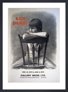 Girl at a Chair by Ken Danby