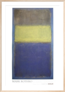 No.2 - No.30 (Yellow Center) by Mark Rothko