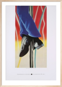 Study for Fire Pole by James Rosenquist