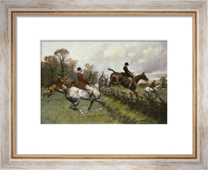 Forty Minutes Over the Grass (Restrike Etching) by Wright
