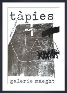 Monotypes 1974 by Antoni Tapies
