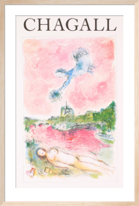Pink Opera (Opera Rose) by Marc Chagall