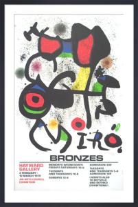 Miro Bronzes, 1972 by Joan Miro