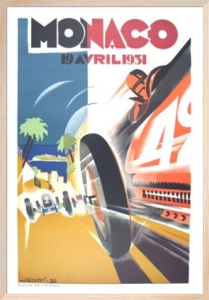 Monaco Grand Prix, 1931 by Robert Falcucci