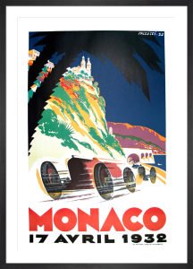 Monaco Grand Prix, 1932 by Robert Falcucci