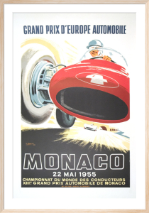 Monaco Grand Prix 1955 by J. Ramel