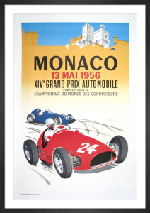 Monaco Grand Prix 1956 by J. Ramel