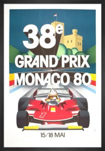 Monaco Grand Prix, 1980 by Anonymous