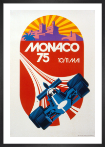 Monaco Grand Prix 1975 by R. Hugon