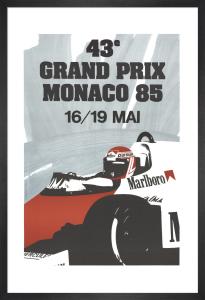 Monaco Grand Prix 1985 by Anonymous