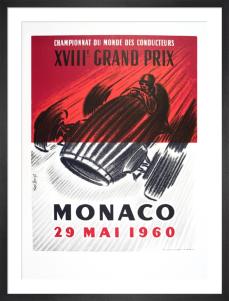 Monaco Grand Prix 1960 by Jose Lorenzi