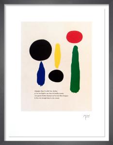 Parler Seul XI by Joan Miro
