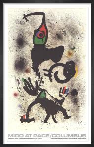 Joan Miro at Pace-Columbus 1979 (vertical) by Joan Miro