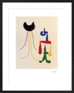 Illustrated Poems-'Parler Seul' XVI by Joan Miro