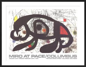 1979 at Pace Columbus (horizontal) by Joan Miro