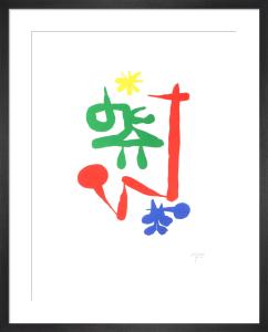 Parler Seul X by Joan Miro