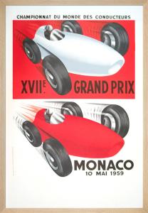 Monaco Grand Prix, 1959 by Anonymous