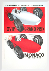 Monaco Grand Prix, 1959 by Anonymous