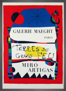 Terres De Grand Feu, 1956 by Joan Miro