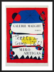 Terres De Grand Feu, 1956 by Joan Miro