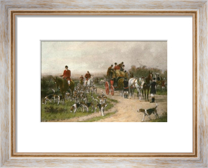 Meet at the Crossroads, A (Restrike Etching) by Wright