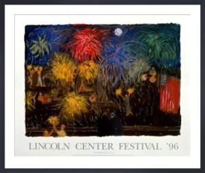 Earth Fireworks, 1996 by Jennifer Bartlett