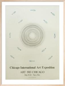Chicago Art Fair 1983 by Edward Ruscha