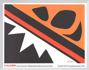 La Grenouille et Cie (large) by Alexander Calder