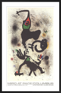 Joan Miro at Pace-Columbus 1979 (vertical) by Joan Miro