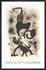 1979 at Pace-Columbus (vertical) by Joan Miro