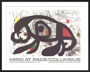 1979 at Pace Columbus (horizontal) by Joan Miro