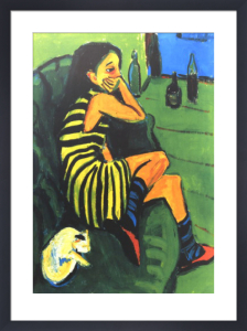 The Artist by Ernst Ludwig Kirchner