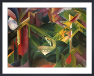 Forest by Franz Marc