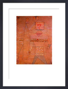 Le General En Chef Des Barbares by Paul Klee