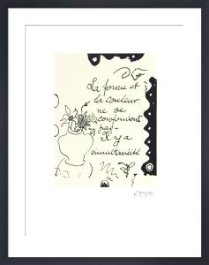 La Forme, 1917-1947 by Georges Braque