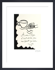 Avec L'age by Georges Braque